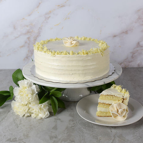 Large Vanilla Layer Cake