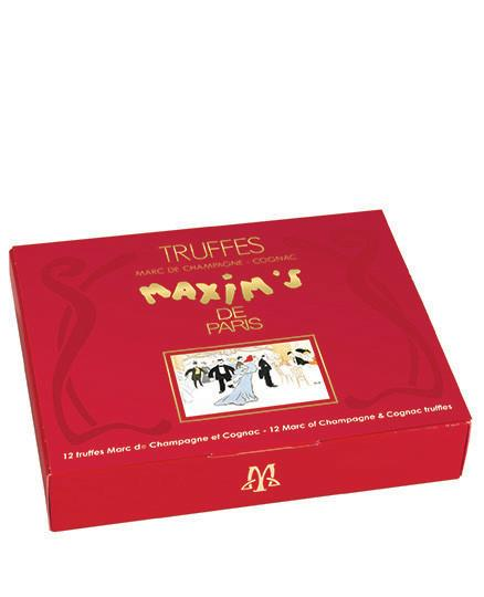 The Maxim's de Paris Truffle Wine Gift