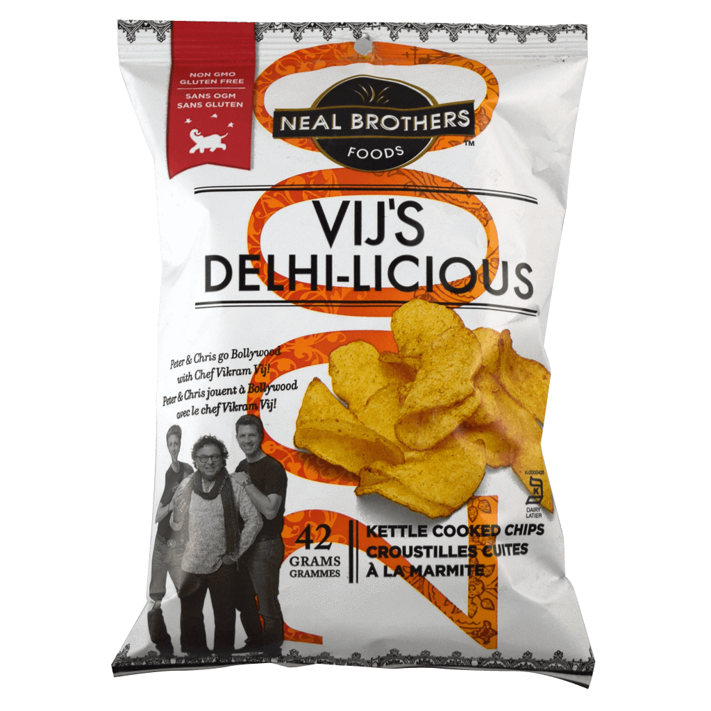 Neal Brothers Vij's Delhi-Licious Chips