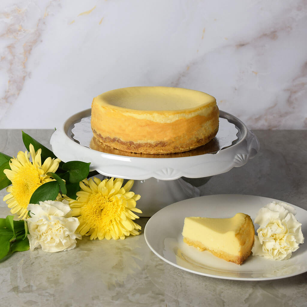 New York Style Plain Cheesecake
