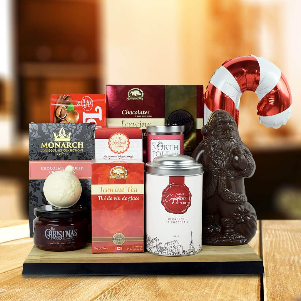 North Pole Delights Gift Basket