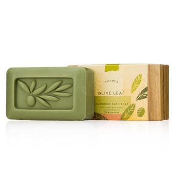 Thymes Olive Leaf - Bar Soap - 195g