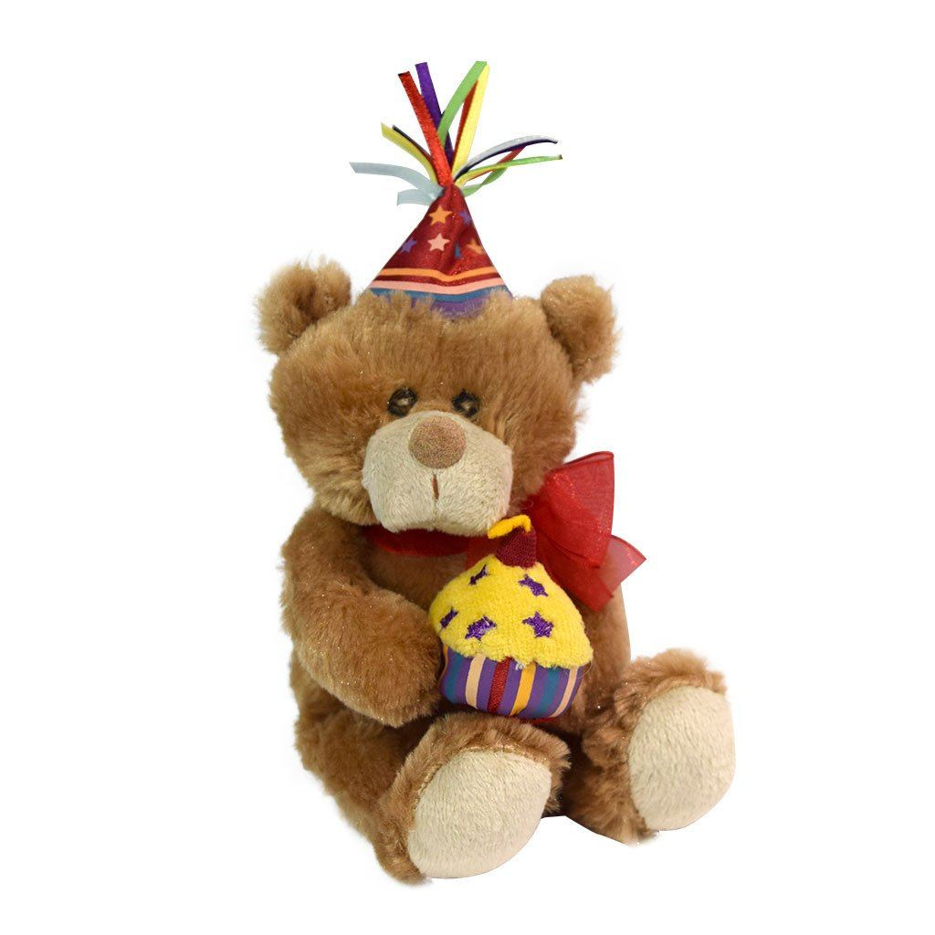 Plush birthday bear