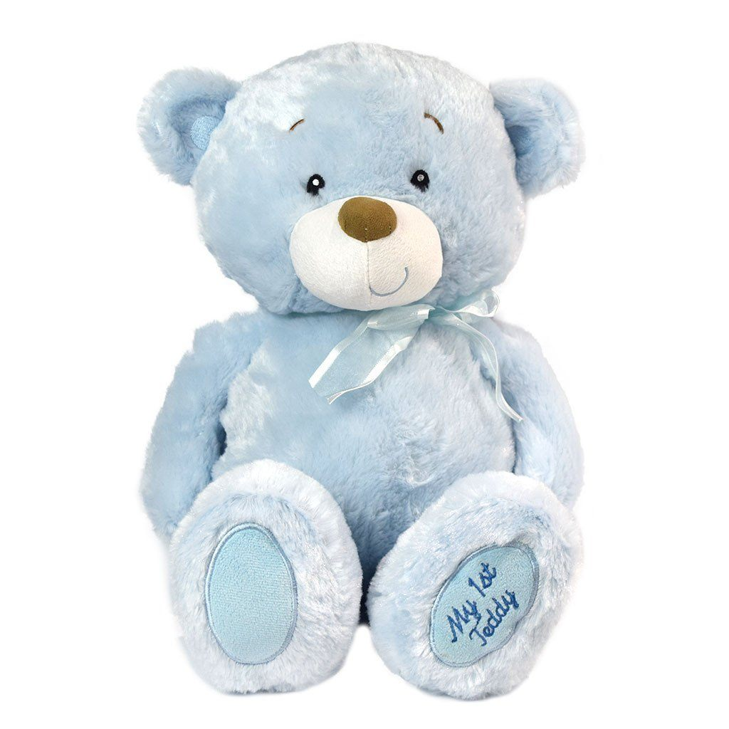 My first teddy-blue