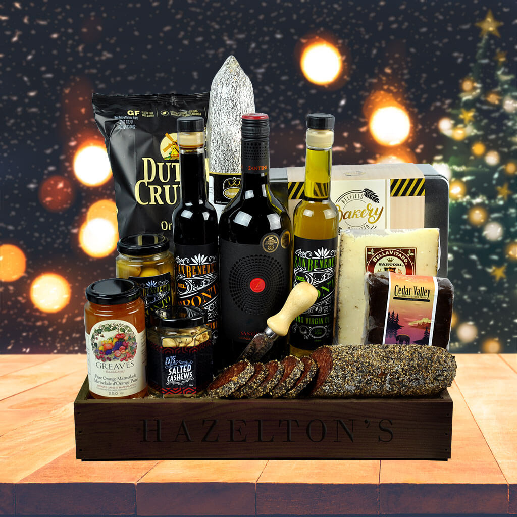 Rich and Savoury Delicatessen Gift Basket