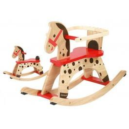 Little Boy Rocking Horse Gift Basket - Standard