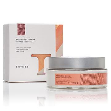 THYMES ROSEWOOD CITRON - WHIPPED BODY CREAM - 190ml