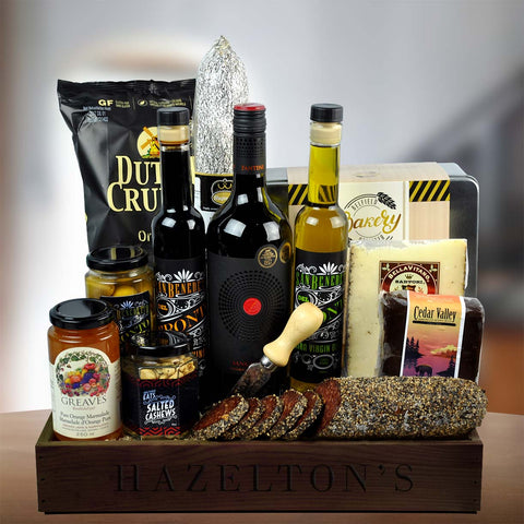 Savoury Delights Gourmet Gift Basket