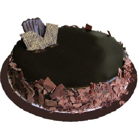 Single Layer Flourless Chocolate Cake