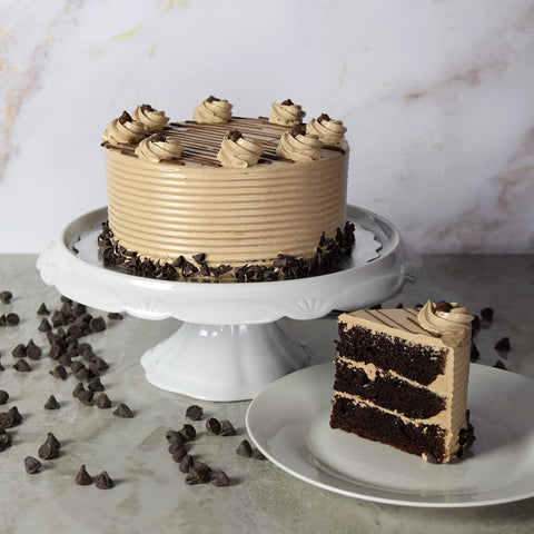 Small Hazelnut Chocolate Cake