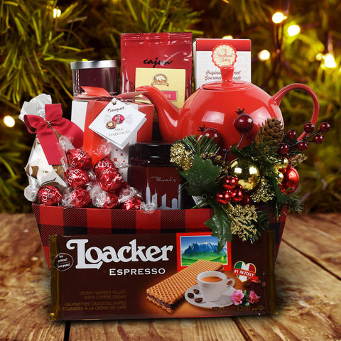 """Tea with Oprah"" Christmas Gift Basket"