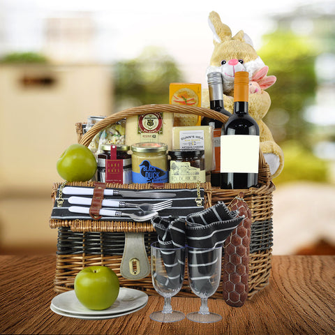 Easter gift baskets toronto canada the easter picnic gift basket negle Gallery