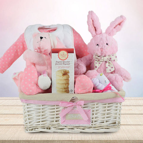 The Big Bunny Baby Gift Basket