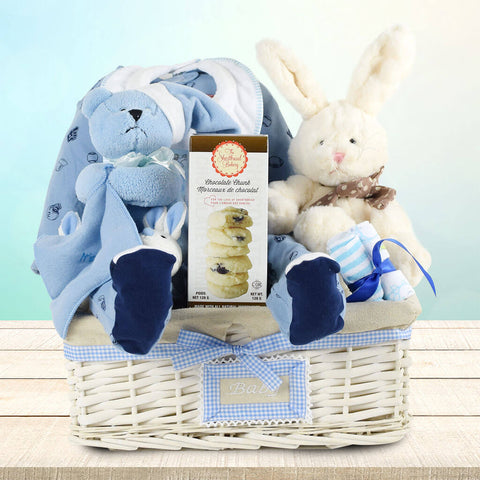 The Big Bunny Baby Girl Gift Basket