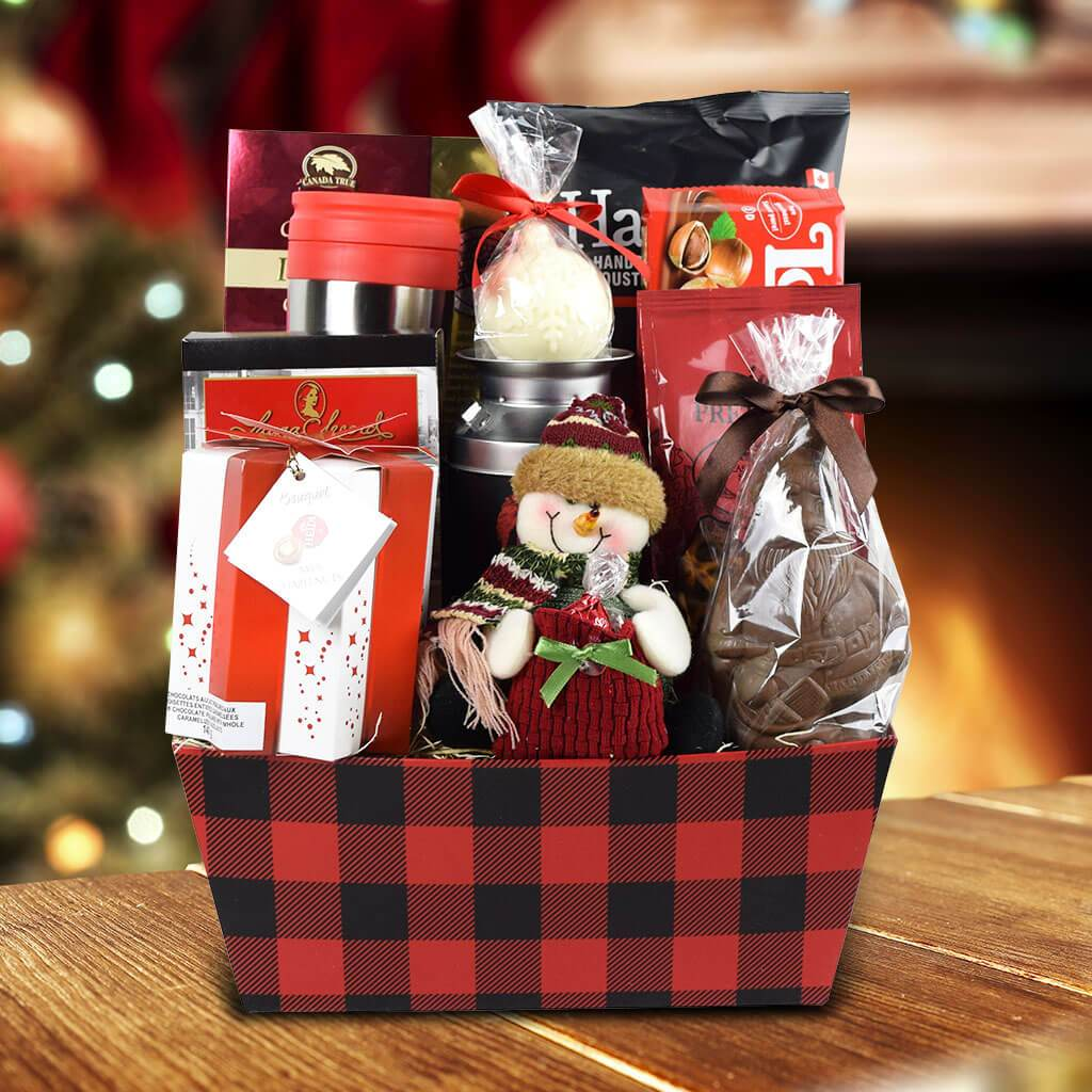 The Christmas Morning Coffee Gift Basket