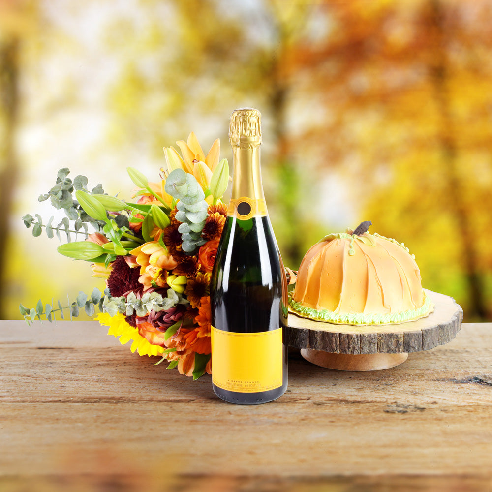 The Essence Of Autumn, Thanksgiving Gift Sets, Cake Gifts