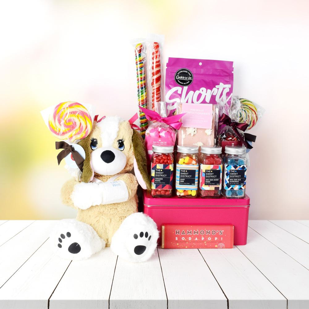 The Future is Sweet Gift Basket for Girls