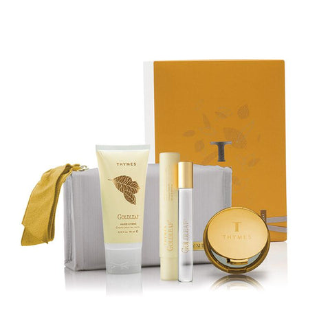 Gold Leaf Gift Set by Thymes