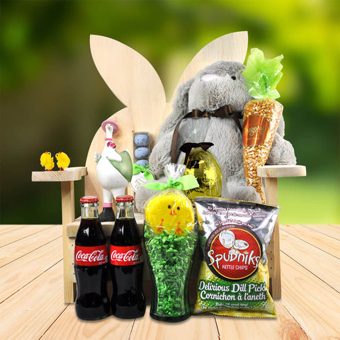 The Bunny Chair Easter Gift Basket