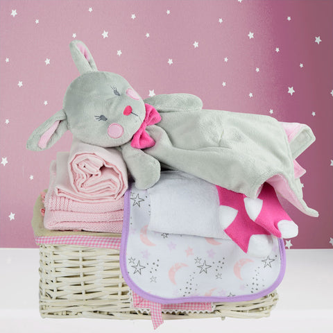 Wish Upon A Star Baby Girl Gift Basket
