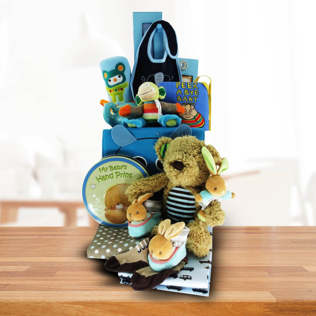 Baby Boy Gift Toy Box