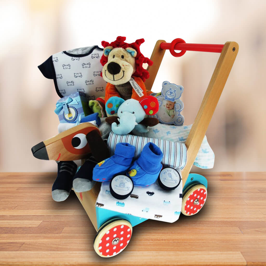 Crazy Doggie Baby Gift Basket