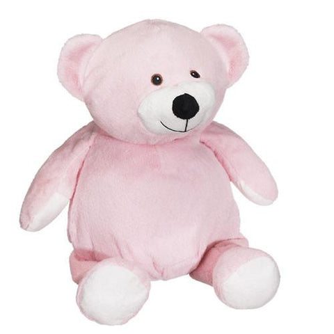 Embroidered Pink Bear