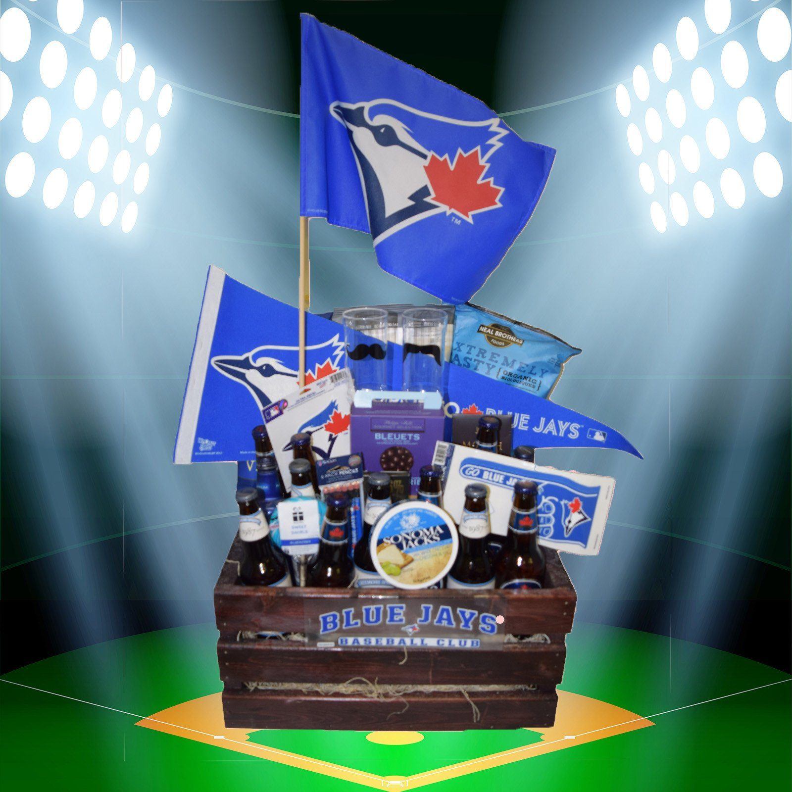 The Toronto Blue Jays Beer Crate