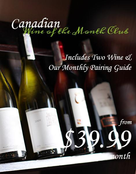 Canadian Wines of the Month Club