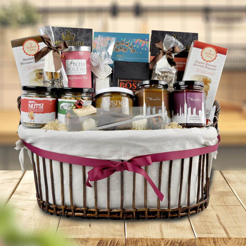 The Christmas Cheer Gift Basket