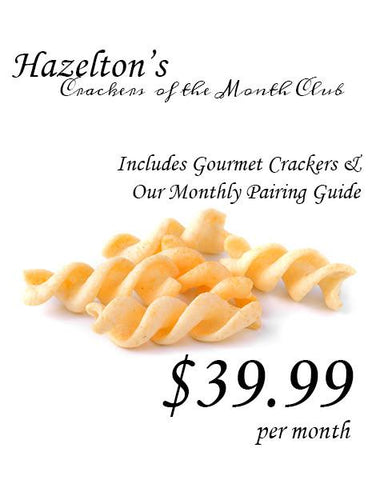 Gourmet Crackers of the Month Club - Diamond Club Membership