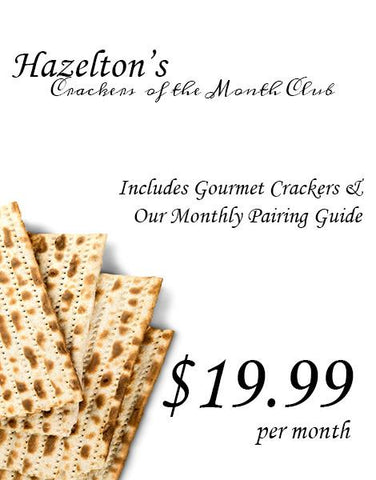 Gourmet Crackers of the Month Club - Gold Club Membership