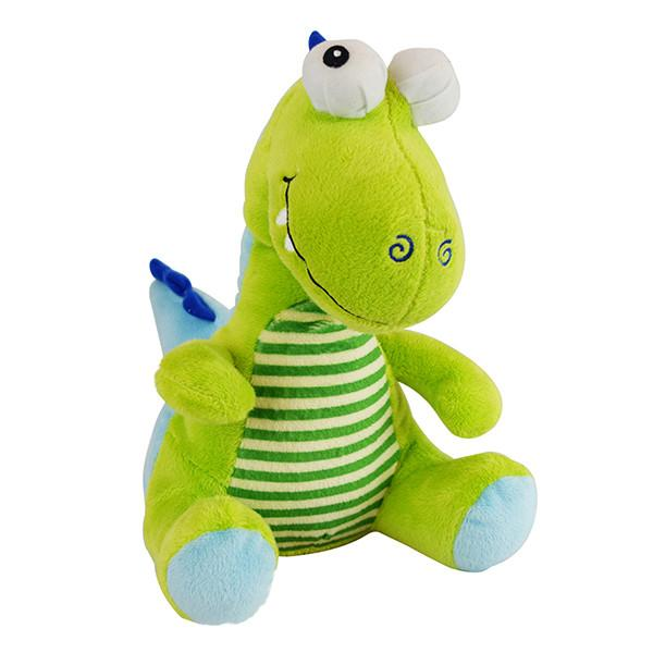 Green dinosaur plush
