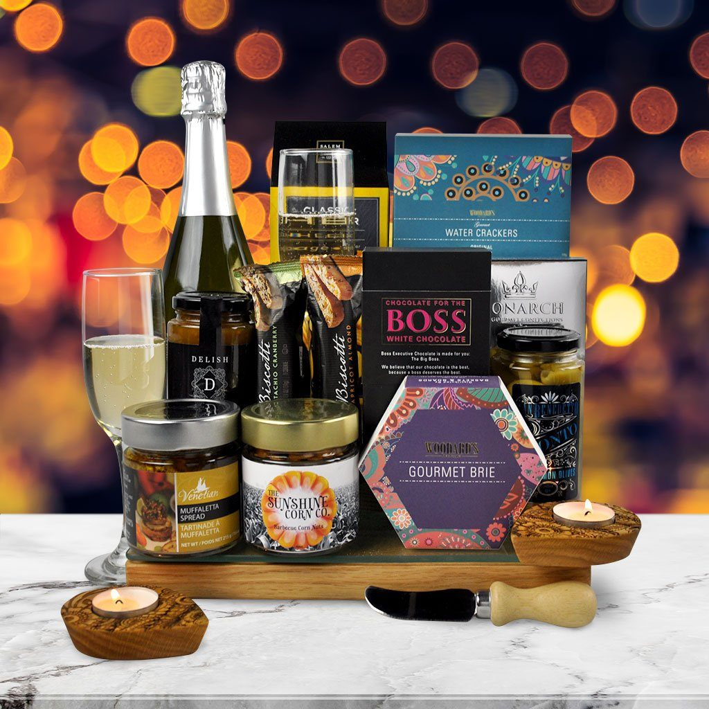 Diwali Nights Champagne Gift Basket