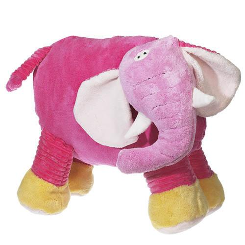 Embroidered Pink Elephant - Large