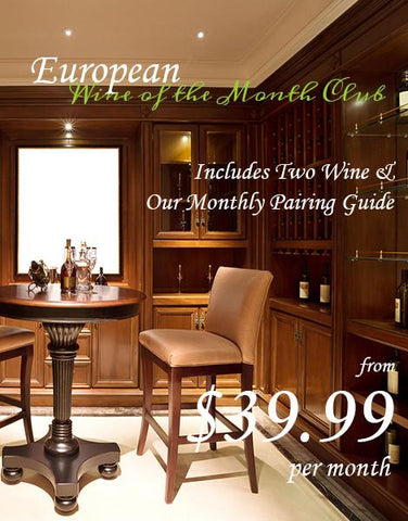 European Wines of the Month Club
