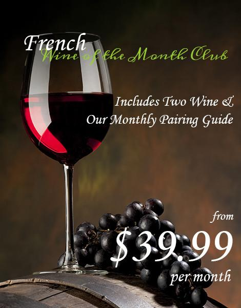 French Wines of the Month Club