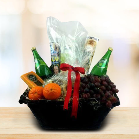 Custom Get Well Soon Gift Basket