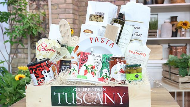 The Girlfriends in Tuscany Gift Basket