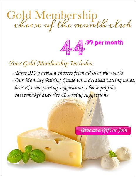 Cheese of the Month Club - Gold membership