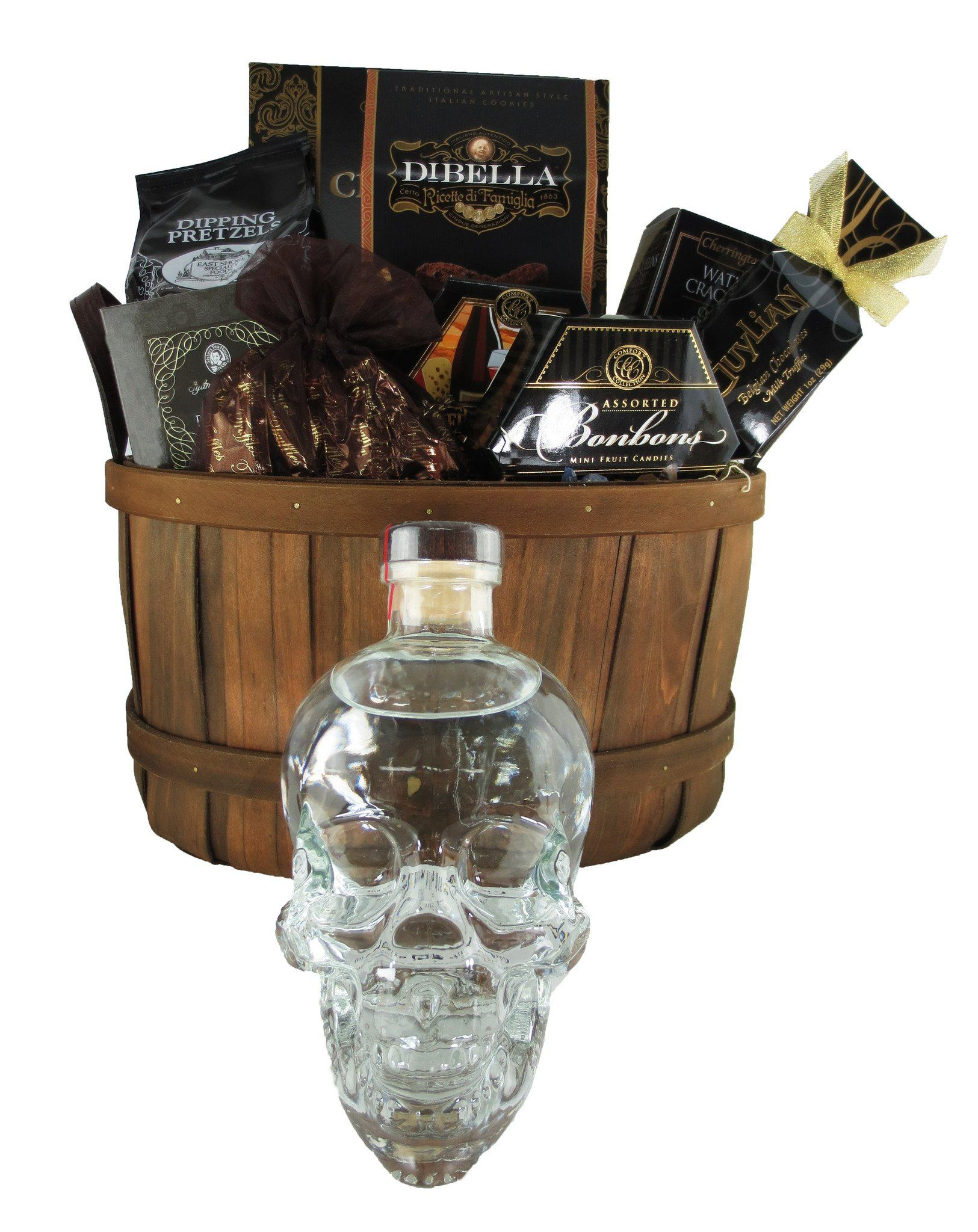 Crystal Head Gift Basket