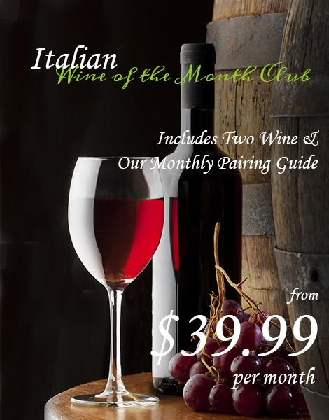Italian Wines of the Month Club