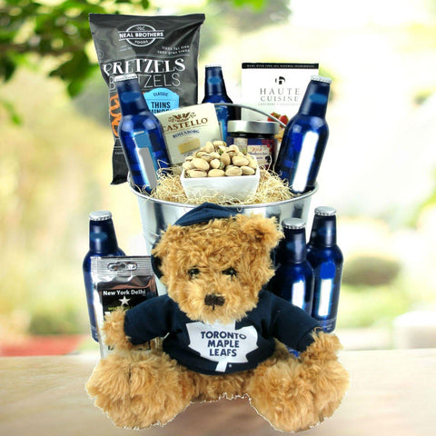 The Maple Leafs Beer Gift Basket