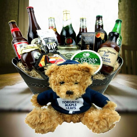 Toronto Maple Leafs Beer Gift Basket
