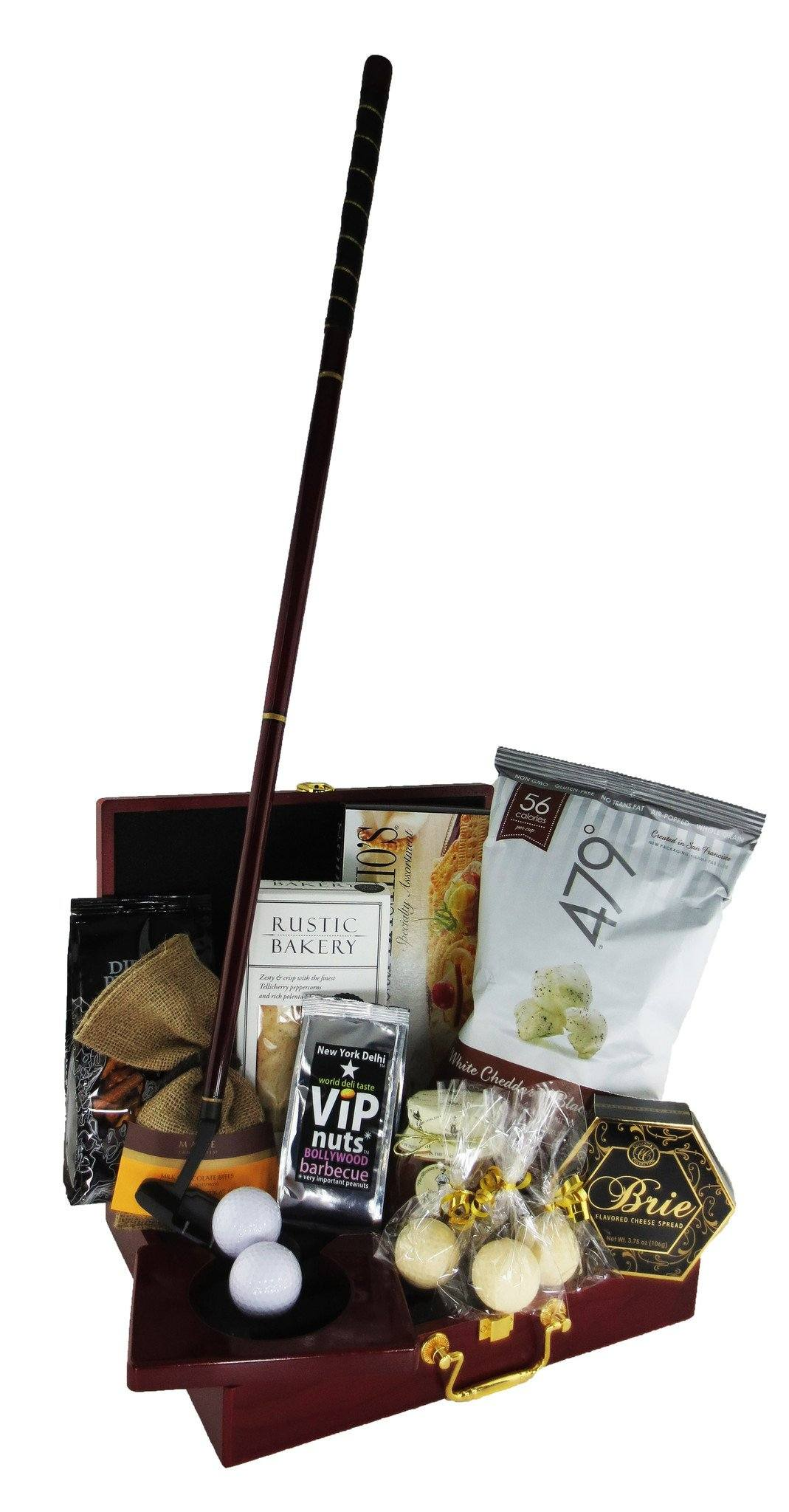 Executive Golf Putting Set Gift Basket