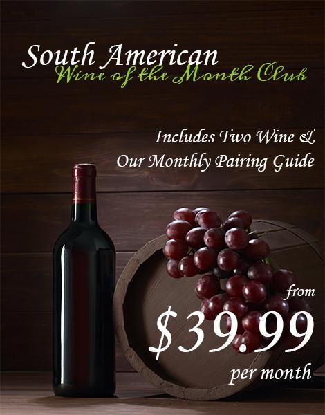 South American Wines of the Month Club