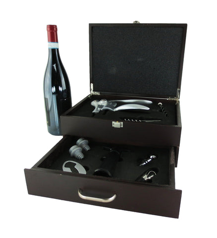 Toscana Wine Opening Gift Box Set, With Wine!