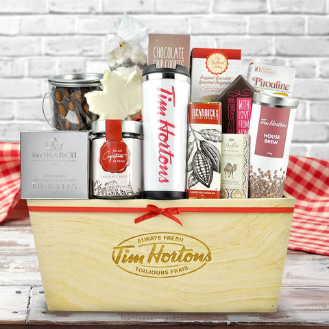 Tim Hortons n' Chocolates Gift Basket
