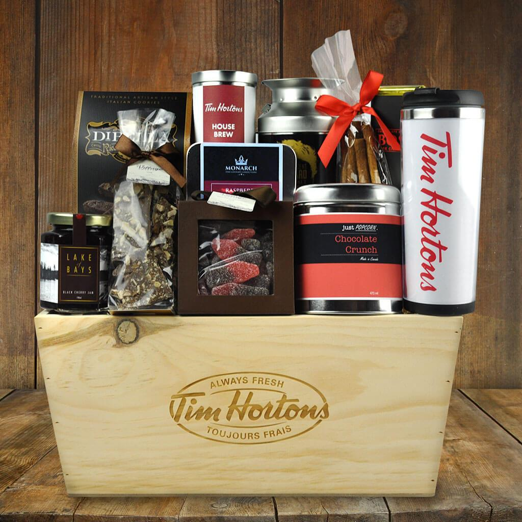 Coffee gift baskets tim hortons decadence gift basket tim hortons decadence gift basket negle Gallery