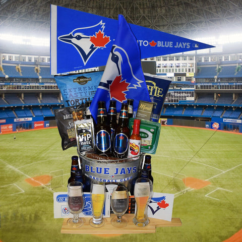 The Toronto Blue Jays Beer Tasting Gift Basket